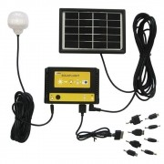 Carregador Solar Multifunção com Luminária Solar 1661 - EY7005