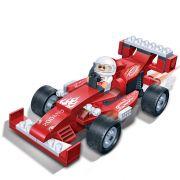 Brinquedo Carro de Corrida Dragão 102 Peças em Blocos de Montar CBRN0906