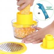 Descascador e Debulhador de Milhos Corn Kerneler Amarelo + Chaveiro CBRN19014