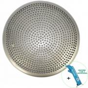 Disco de Equilíbrio Para Exercícios Inflável 33 cm Cinza + Chaveiro CBRN15993