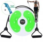 Disco de Torção Cintura Waist Twist Terapia Magnética Verde + Chaveiro CBRN16105