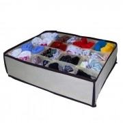 Organizador de gaveta cuecas meias calcinhas 16 compartimentos