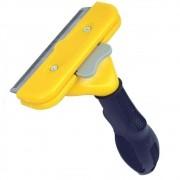 Escova tira pelos cachorros cães grandes pelo longo CBR03655 amarelo