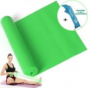 Faixa Elástica Para Exercício Resistência Yoga Verde + Chaveiro CBRN15962