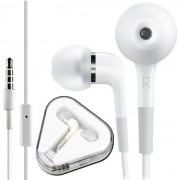 Fone de Ouvido Intra-Auricular para iPod e iPhone Branco HW80358  com microfone