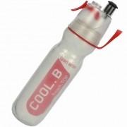 Garrafa de Água Com Borrifador Squeeze Caramanhola Cool B Vermelho CBRN12480