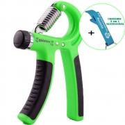 Hand Grip Exercitador Para Mãos Punho Emborrachado Verde + Chaveiro CBRN15900