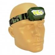 Lanterna de Cabeça 3 LEDs a Pilhas Camuflada CBRN11629