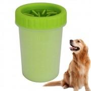 Lava Patas de Silicone Para Cães Verde G CBRN14507