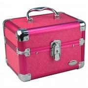 Maleta Frasqueira Maquiagem e Jóias pink CBRN04713