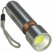 Mini Lanterna de LED COB a Pilhas Cobre CBRN16525