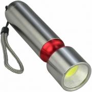 Mini Lanterna de LED COB a Pilhas Vermelho CBRN16549