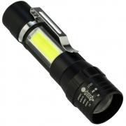 Mini Lanterna Tática LED CREE Zomm a Pilhas Multifunção CBRN16501