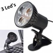Mini Luminária Led USB com Clipe para Notebook Pc Mac CBRN01835