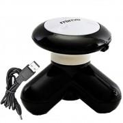 Mini Massageador Vibrador USB ou Pilhas MIMO Preto CBRN0920