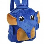 Mochila infantil Pelucia 3D elefante azul CBRN07394