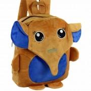 Mochila infantil Pelucia 3D elefante marrom CBRN07400
