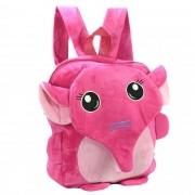 Mochila infantil Pelucia 3D elefante pink CBRN07387