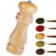 Moedor de Pimenta, Sal de Madeira Manual de 15cm CBRN06700