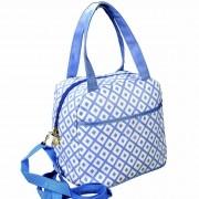 Necessaire Feminina Bolsa Térmica Azul CBRN06175