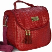 Nécessaire Feminina Bolsa Térmica Luxo Vermelho CBRN08018