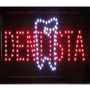 Letreiro luminoso de Led 110v Dentista 1619