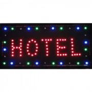 Placa Led Quadro Letreiro Luminoso Decorativo Hotel 1612