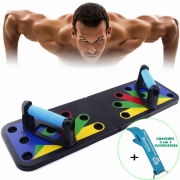 Prancha para Flexão de Braço Para Exercício + Chaveiro CBRN18017