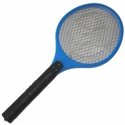 Raquete Mata Mosquito, Mosca e Inseto Elétrica Recarregável Bi-volt Azul CBRN0777