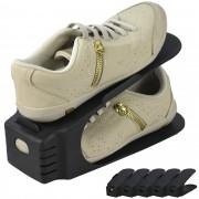 Sapateira Organizadora de Sapatos 5 Peças Preto CBRN06601