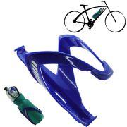 Suporte Bicicleta Squeeze Garrafa Caramanhola Bike Azul CBRN01736