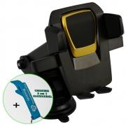 Suporte Celular Carro Ventosa Ajustável + Chaveiro CBRN18406