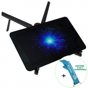 Suporte para Notebook Tablet Dobrável Ajustável + Chaveiro CBRN18628
