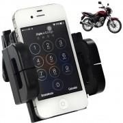 Suporte Universal GPS,Celular,Tablet para Motocicleta, Quadriciclo Preto CBRN0074