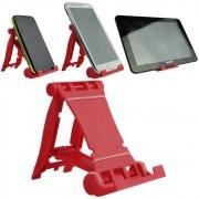 Suporte para celular, Tablet, E-book, Vermelho CBRN02146