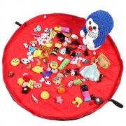 Tapete Sacola Saco Bolsa Organizador de Brinquedos Multiuso Vermelho CBRN13807