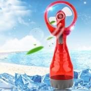 Ventilador Portátil Borrifador Umidificador Spray Vermelho CBRN05147