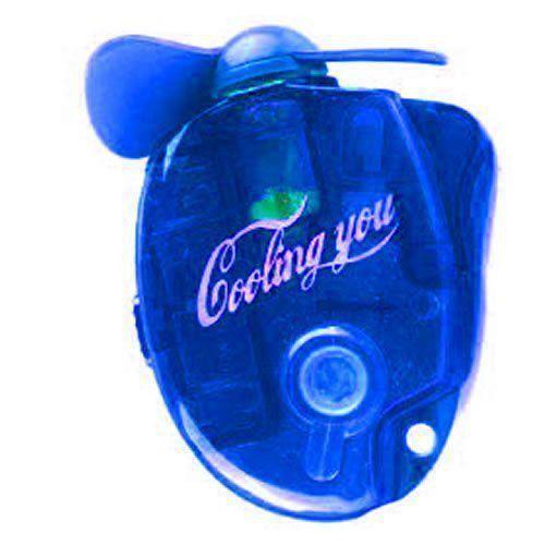 Mini Ventilador com Spray Pulverizador de Água ou Perfumes 17592-1