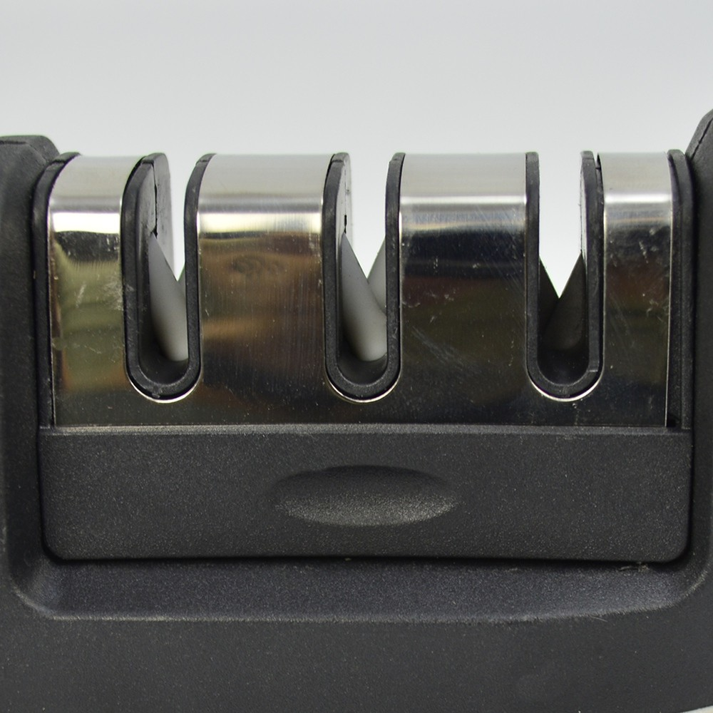 Afiador Amolador Manual de Facas Diamantado Cinza CBRN15573