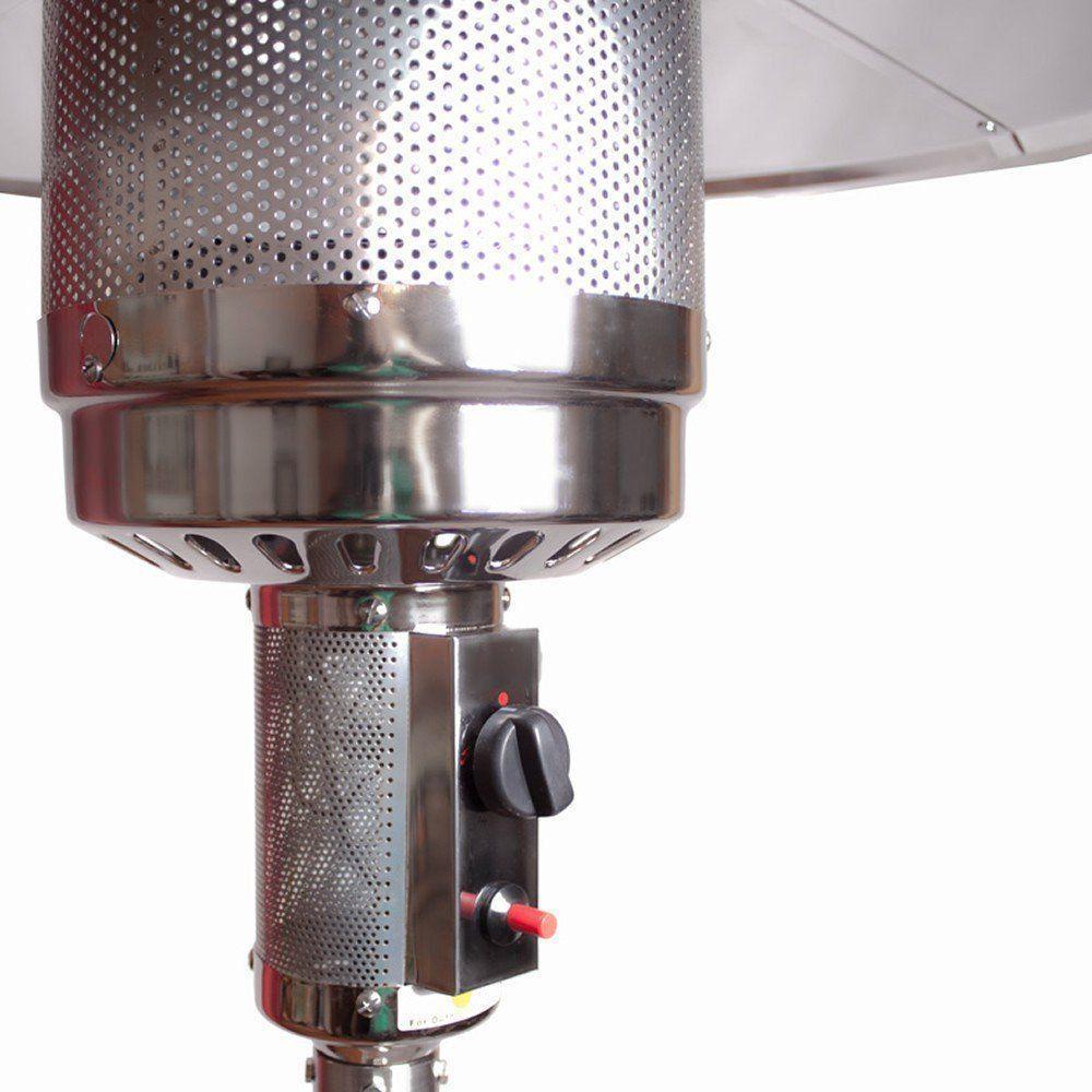 Aquecedor de ambiente externo a gás GLP PRATA CBRN03792