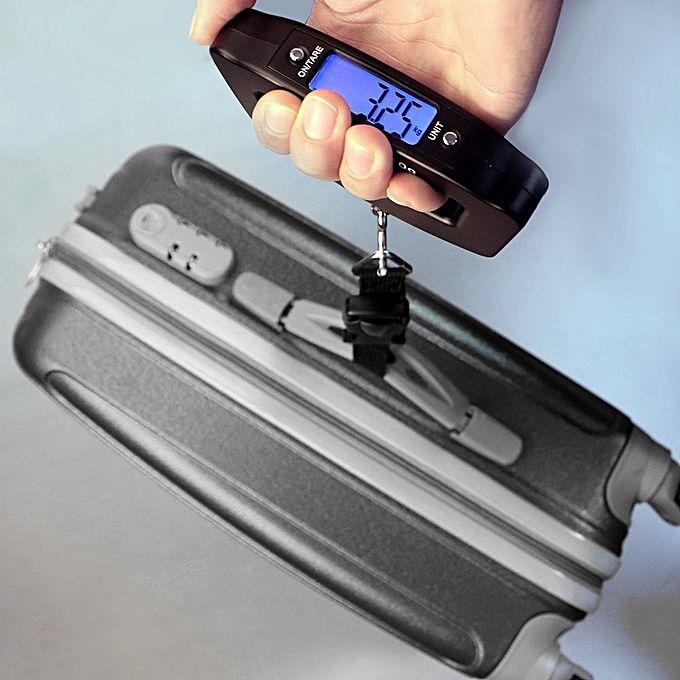 Balança de Bagagem Mala para Viagem Digital 50kg Alça Nylon CBRN02672
