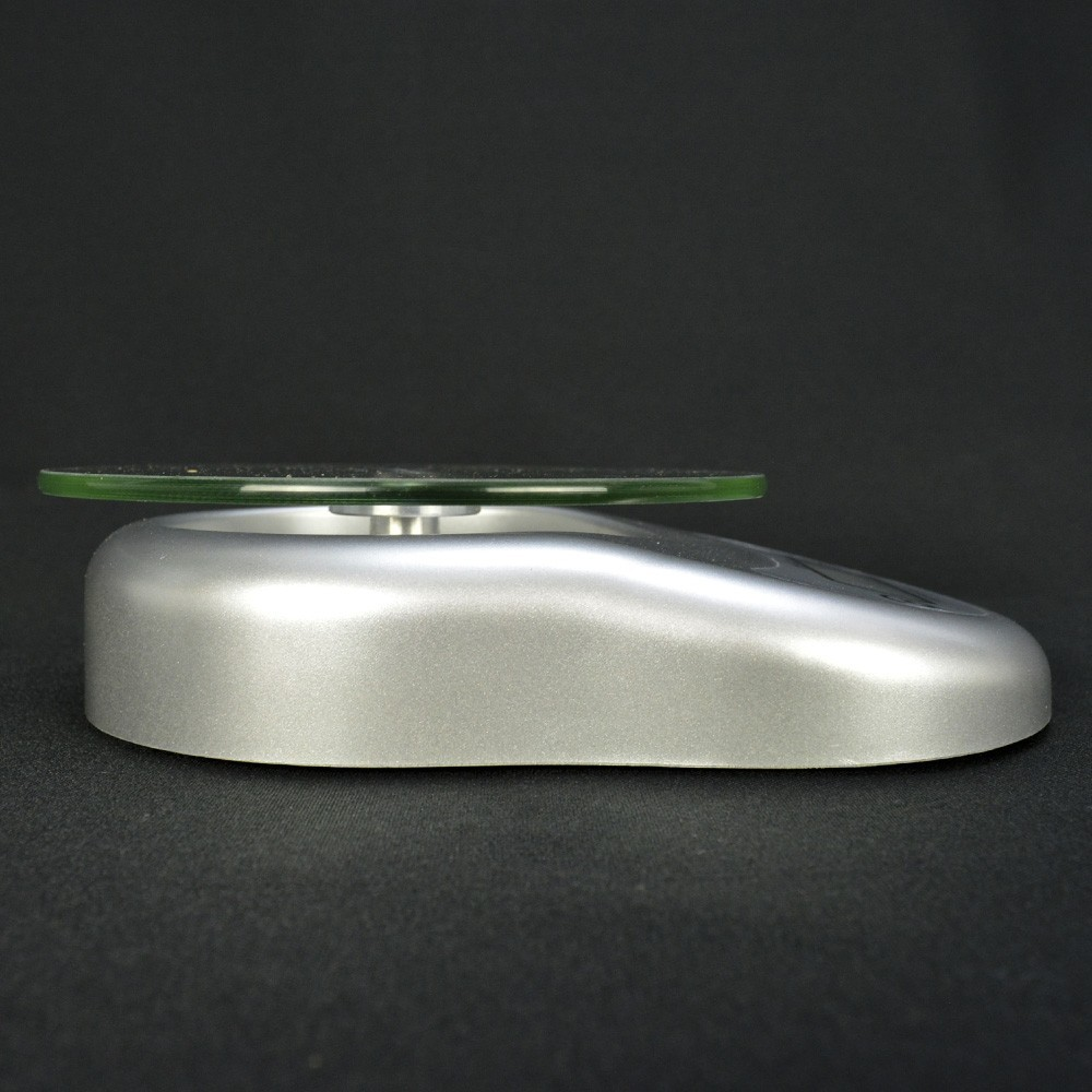 Balança Digital Luxo 5 kg Vidro Prata CBRN14200