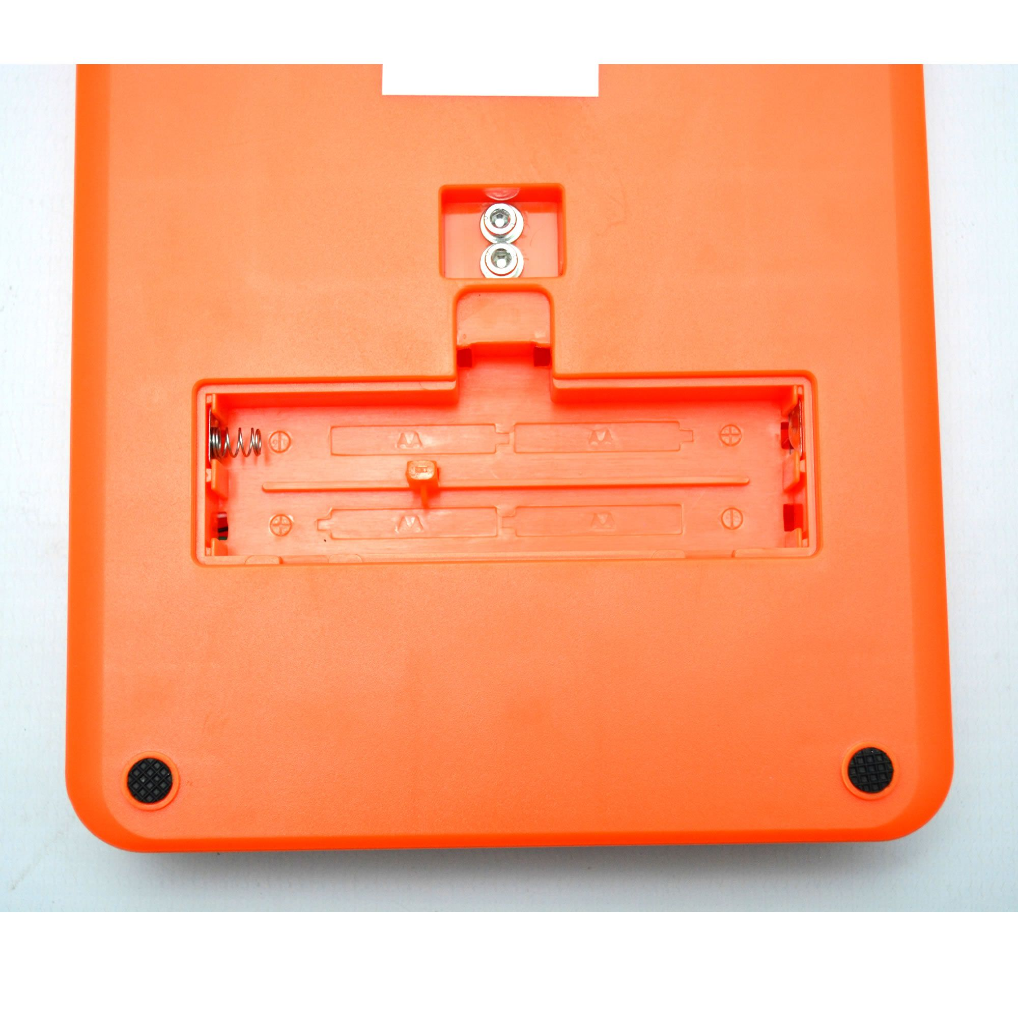 Balança Digital Precisão 5 kg Conta Peças com Fonte Laranja CBRN11995
