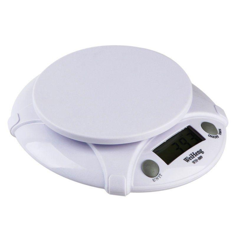 Balança Eletrônica Digital c/ Bandeja KRB09 1g à 7kg CBR1054