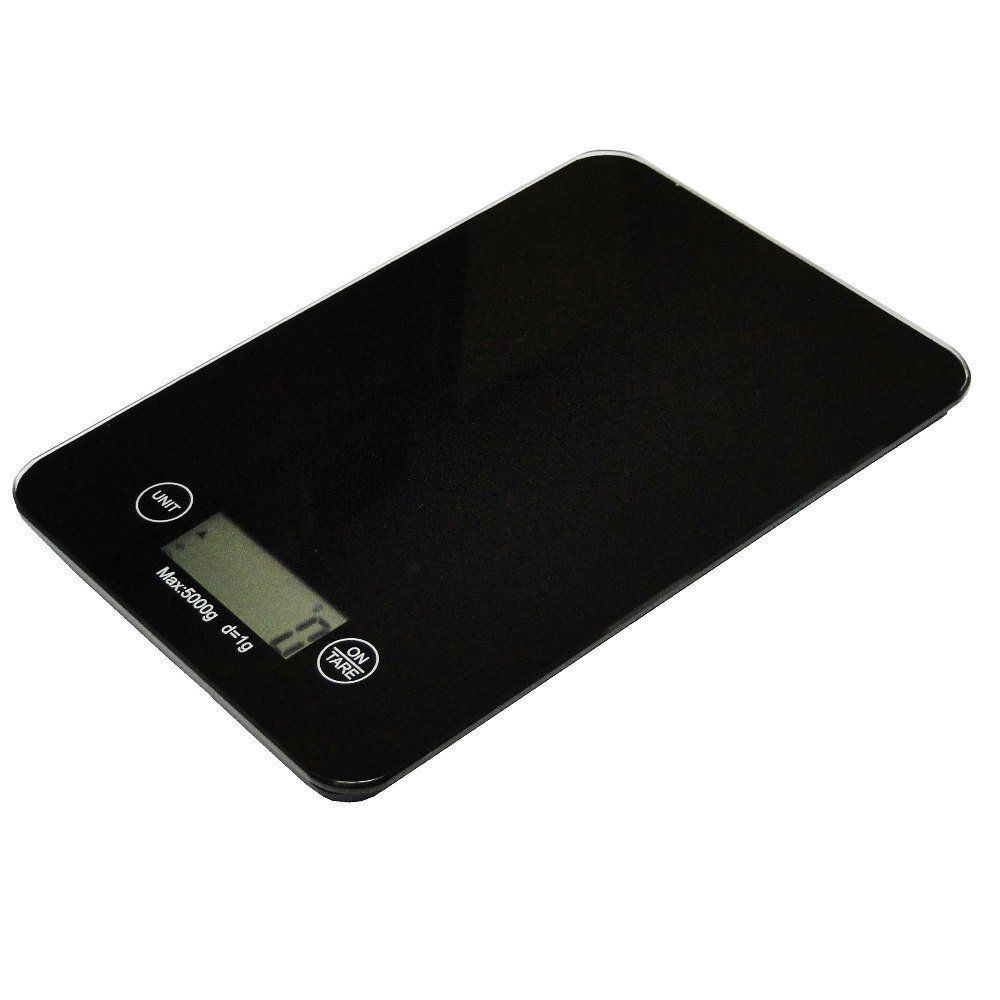 Balança Eletrônica Digital de Cozinha 1 g à 5 kg Luxo CBR1056