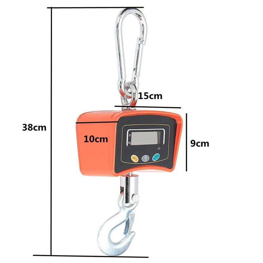 Balança Suspensa Digital Precisão de Gancho 500 Kg CBRN10370