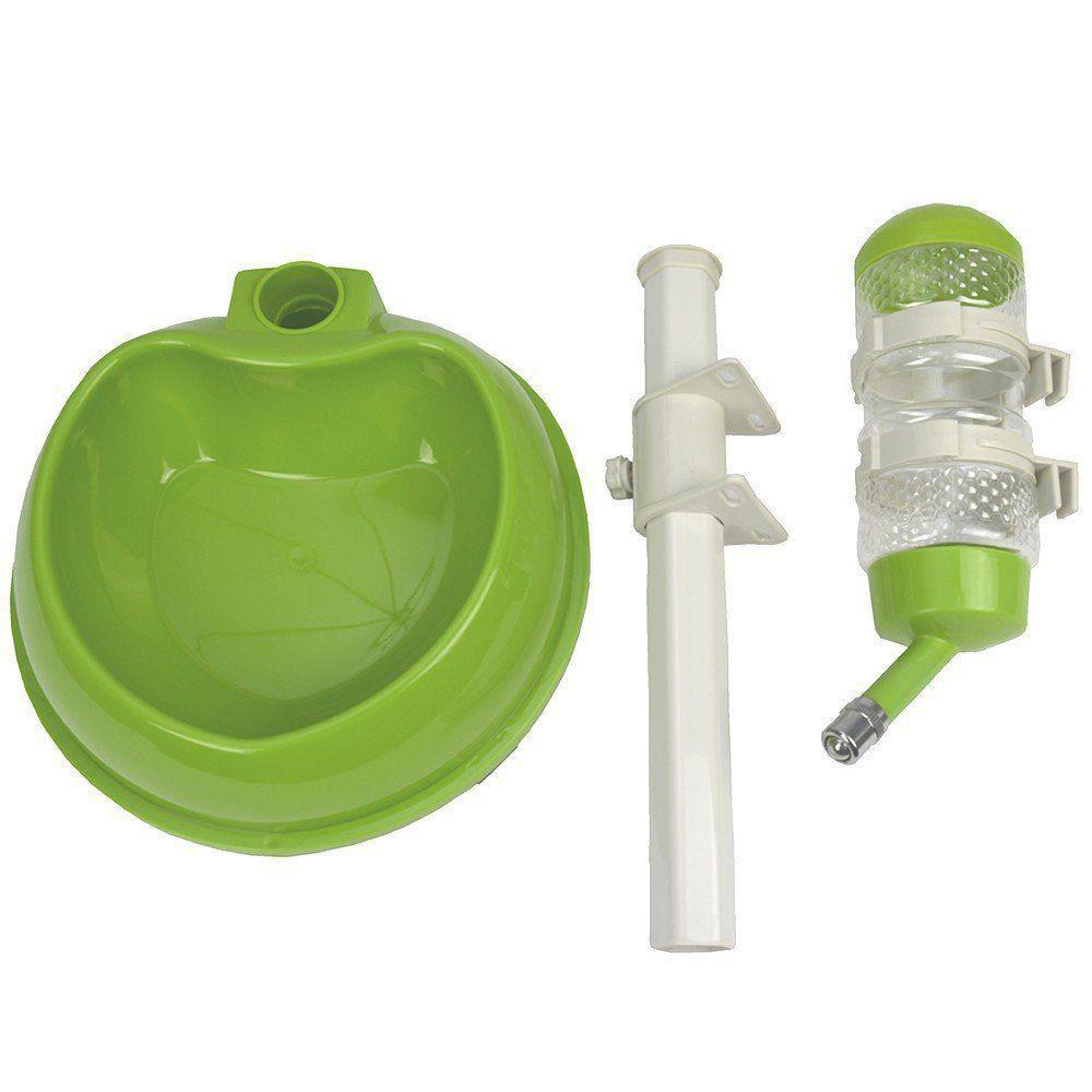 Bebedouro automatico para cães e gatos CBR03297 verde