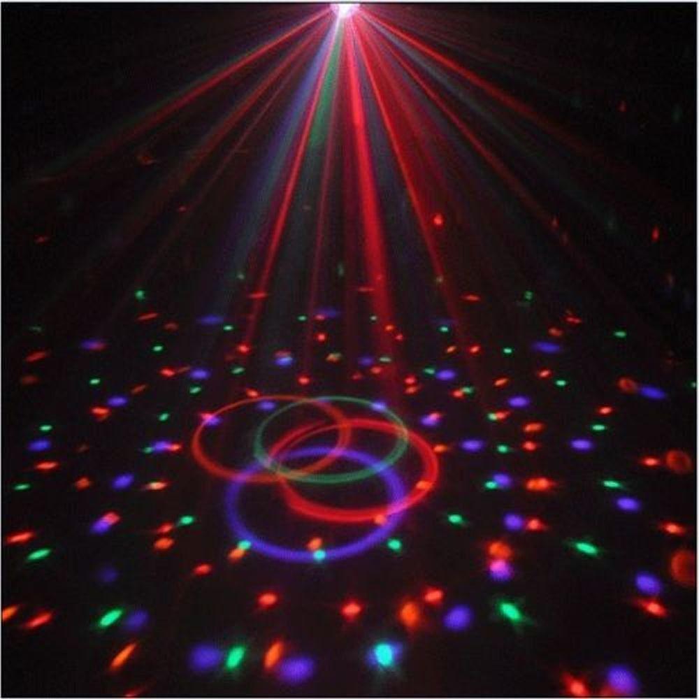 Bola Maluca LED RGB Holográfico Bluethooth Magic Ball CBRN08902