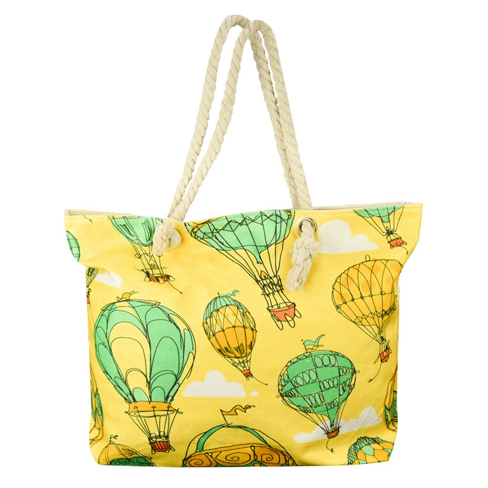 Bolsa de Praia Sacola com Alça de Corda Balões CBRN14828