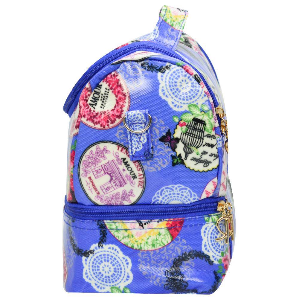 Bolsa Feminina Necessaire Térmica Paris Azul CBRN16600